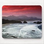 Playa del cañón, Oregon, los E.E.U.U. Alfombrilla De Ratones