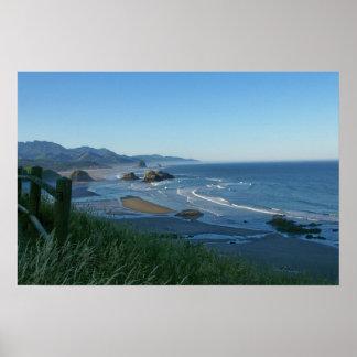 Playa del cañón, poster de Oregon
