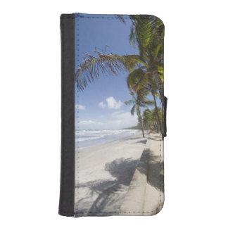 - Playa del Caribe de Trinidad - de Manzanilla enc Funda Cartera Para Teléfono