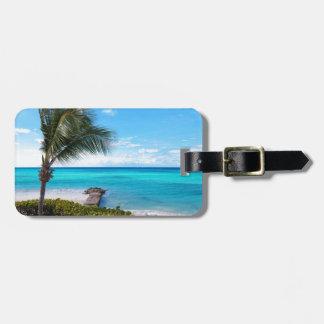Playa del Caribe Etiqueta De Maleta