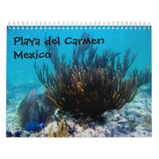 Playa del Carmen, Mexico Calendars