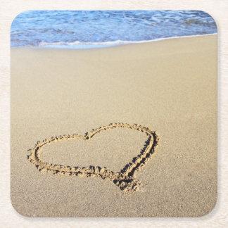 Playa del corazón del amor