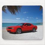 Playa del desafiador de Dodge Tapetes De Ratón