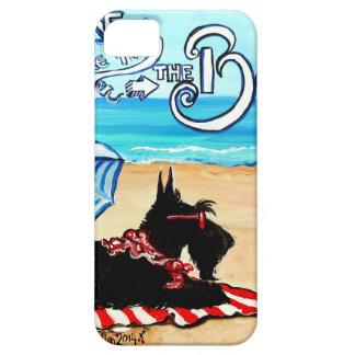 Playa del escocés iPhone 5 protectores