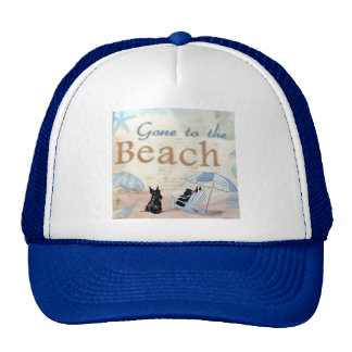 Playa del escocés gorras