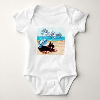 Playa del escocés t shirts