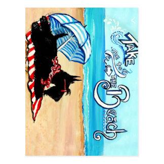 Playa del escocés tarjetas postales