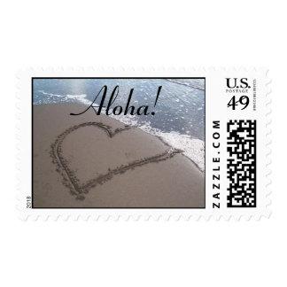 Playa del Hawaiian de la hawaiana Estampillas