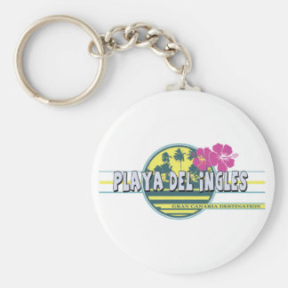 Playa del Ingles GC destination Keychain