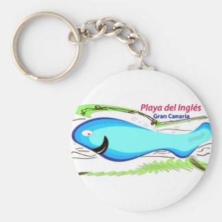 Playa del Ingles Gran Canaria Keychain