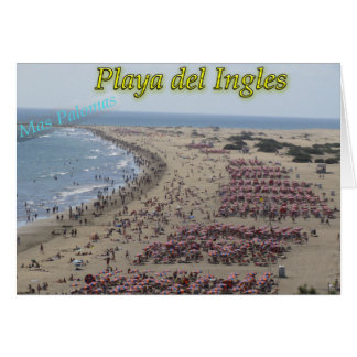 Playa del Ingles Tarjetas