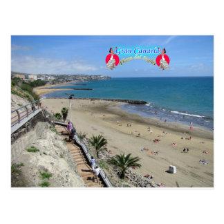 Playa del Ingles Tarjeta Postal