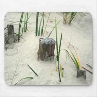 Playa del invierno alfombrilla de ratones