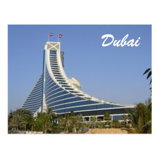 playa del jumeirah de Dubai Tarjeta Postal