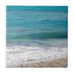 Playa del mar del Caribe Azulejo Ceramica