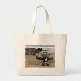 Playa del mejillón bolsas de mano