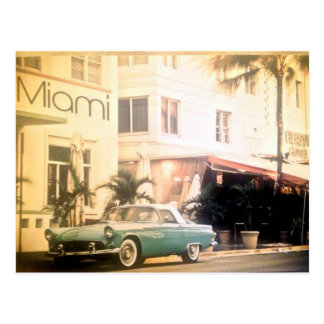 Playa del Miami-Sur Tarjeta Postal