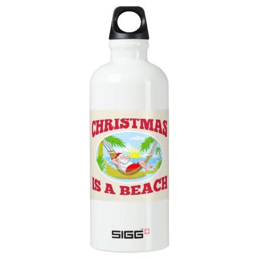 Playa del navidad del padre de Papá Noel que se