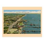 Playa del norte del vintage, Corpus Christi, Tejas Postales