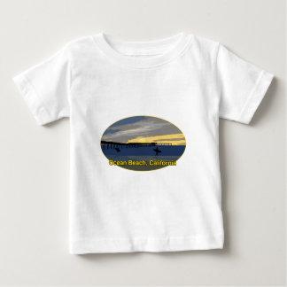 Playa del océano, California Playera De Bebé