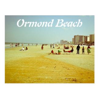 playa del ormond tarjeta postal