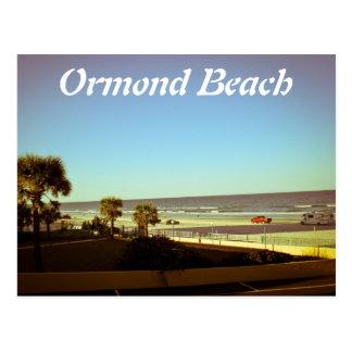 playa del ormond tarjetas postales
