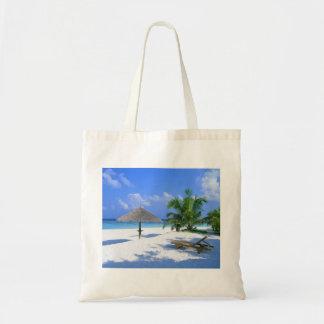 Playa del paraíso bolsa tela barata