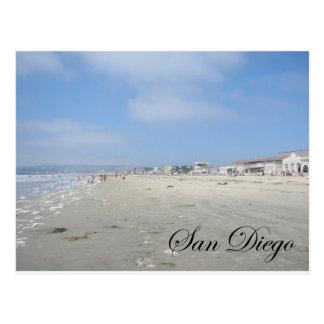 Playa del perro tarjetas postales