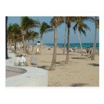 Playa del pie Lauderdale Postales