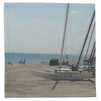 Playa del pie Lauderdale Servilletas