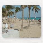Playa del pie Lauderdale Tapete De Raton
