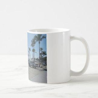 Playa del pie Lauderdale Taza Básica Blanca