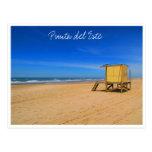 playa del punta tarjetas postales