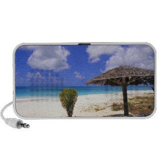 Playa del punto de los Cocos Barbuda Antigua PC Altavoces