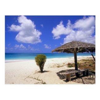 Playa del punto de los Cocos, Barbuda, Antigua Tarjetas Postales