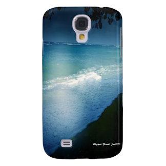 Playa del reggae, caso de Jamaica Iphone 3 Samsung Galaxy S4 Cover