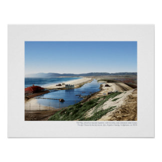 Playa del Rey Lagoon, 1904 - Northern View Poster