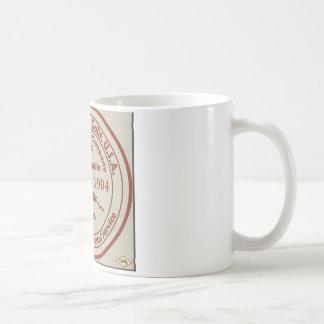 Playa del Rey Post Office 1904 Rubber Stamp Mug