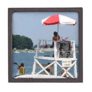 Playa del salvavidas cajas de regalo de calidad