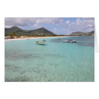 Playa del St. Maarten Tarjeta