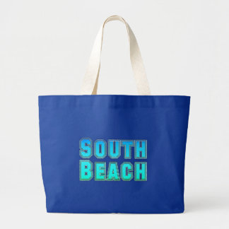 Playa del sur bolsa de tela grande
