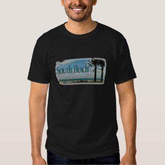 Playa del sur, camiseta de la opinión de la camisas