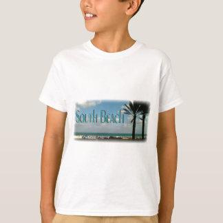 """""""Playa del sur, camiseta de la opinión de la Playeras"""