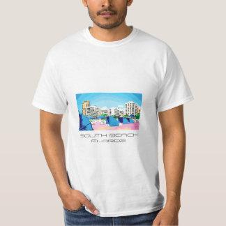 PLAYA DEL SUR fresca, camiseta de MIAMI, la Polera