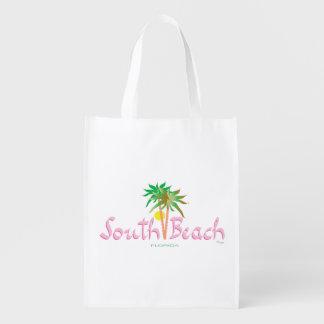 Playa del sur, la Florida Bolsas De La Compra