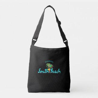 Playa del sur Miami, la Florida, palmas, Bolsa Cruzada