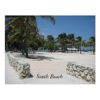 Playa del sur, Miami Postales