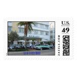 Playa del sur, Miami Sellos Postales
