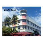 playa del sur Miami Tarjetas Postales