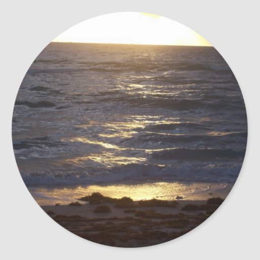 Playa del sur pegatinas redondas